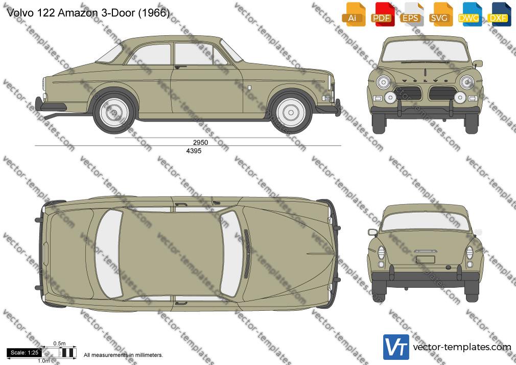Volvo 122S Amazon 1966