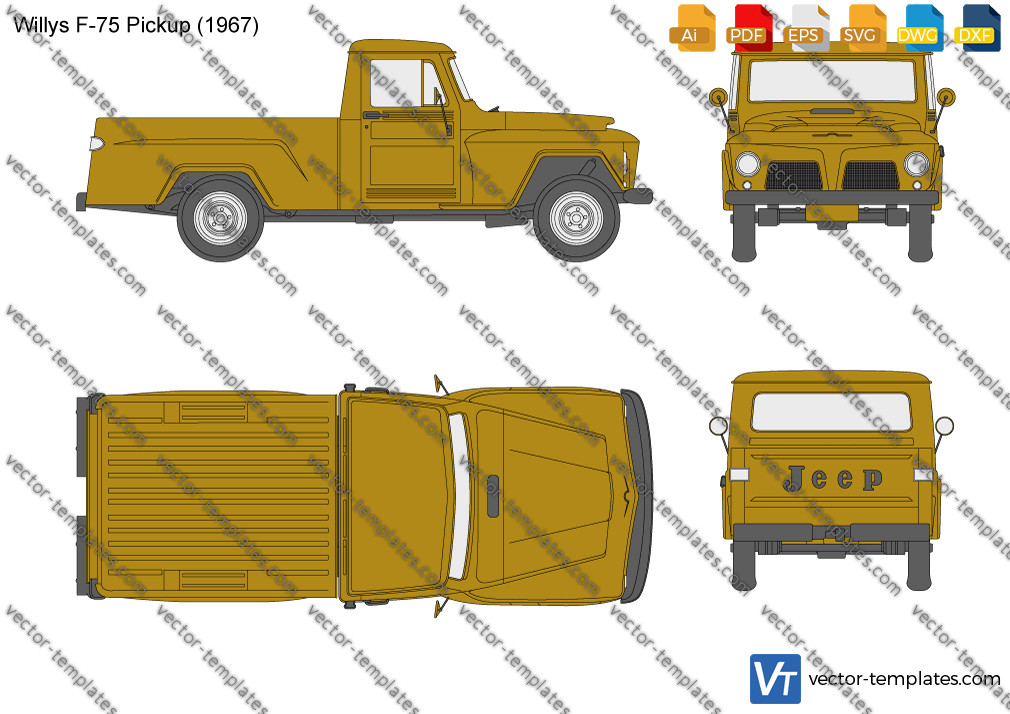 Willys F-75 Pickup 1967