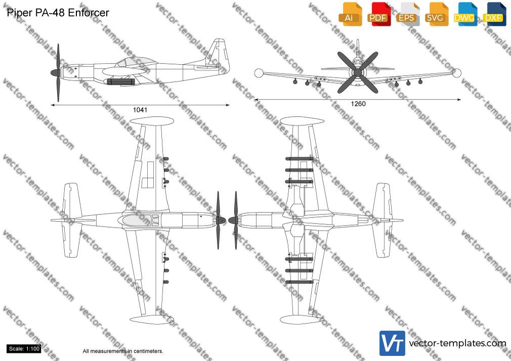 Piper PA-48 Enforcer