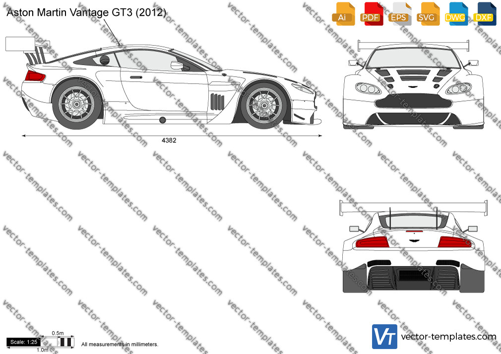 Aston Martin Vantage GT3 2012