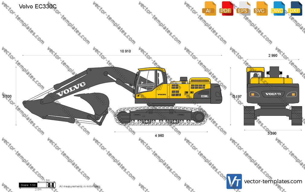 Volvo EC330C Crawler Excavator