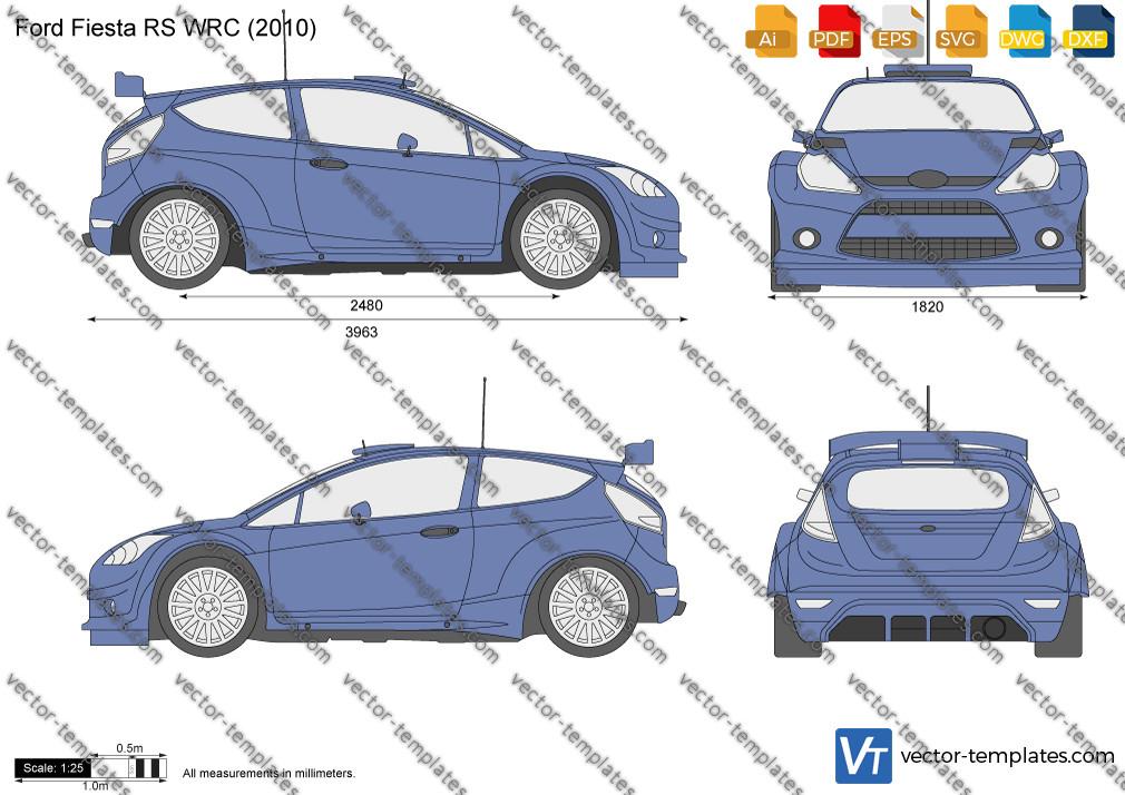 Ford Fiesta RS WRC 2010