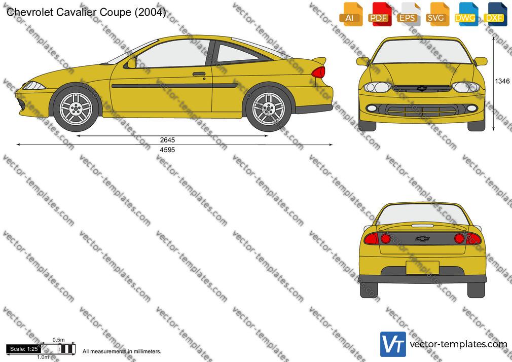 Chevrolet Cavalier Coupe 2004