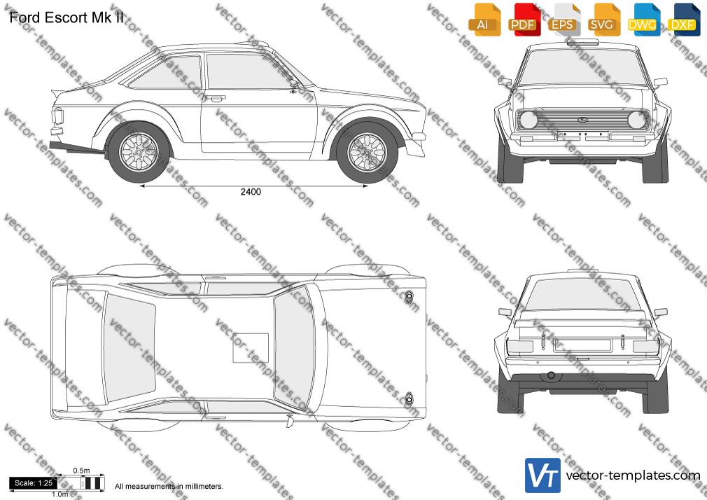 Ford Escort Mk II 1977