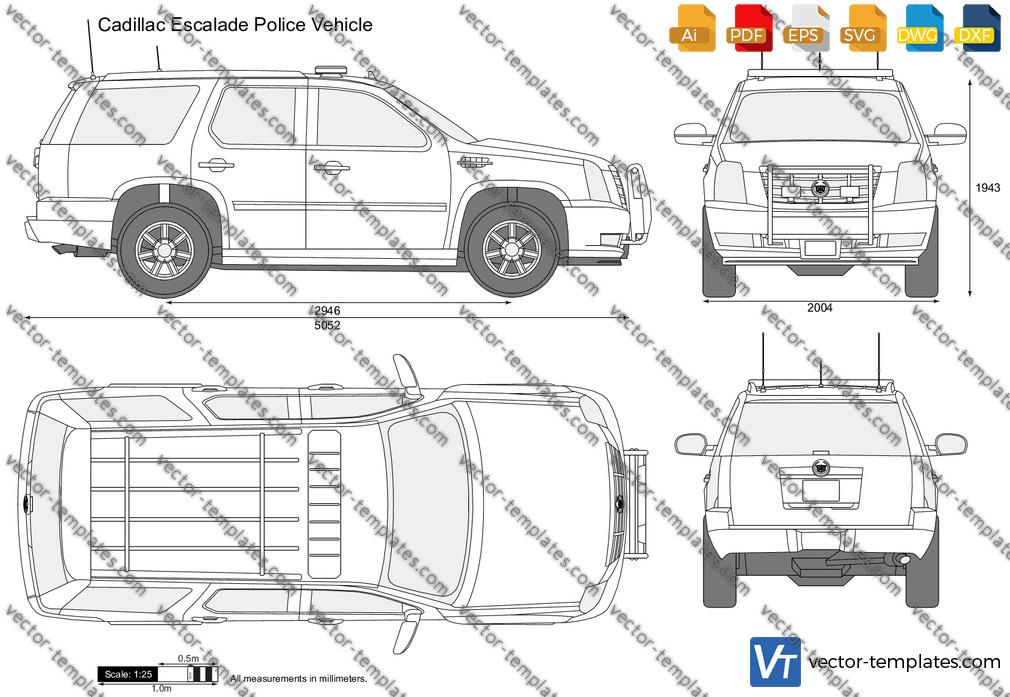 Cadillac Escalade Police Vehicle