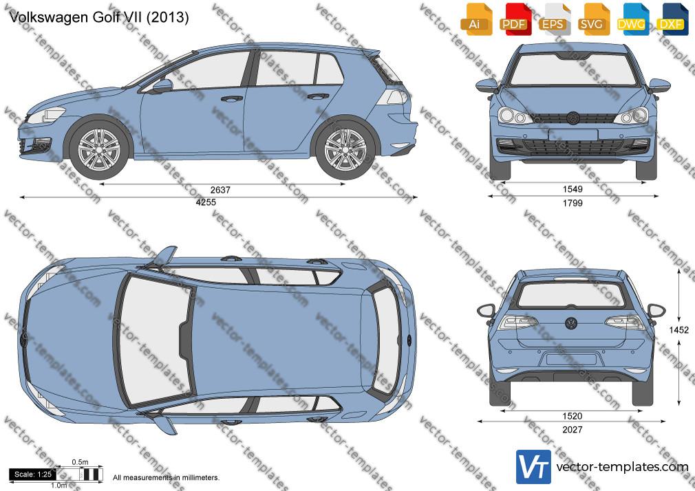 Volkswagen Golf VII 5-Door 2013