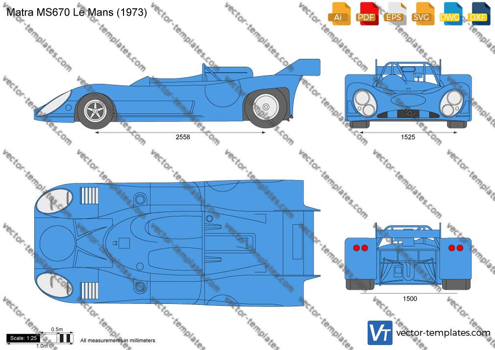 Matra MS670 Le Mans 1973
