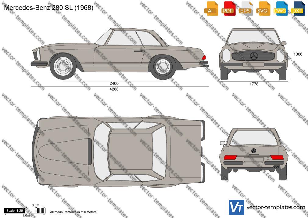Mercedes-Benz 280 SL W113 1968