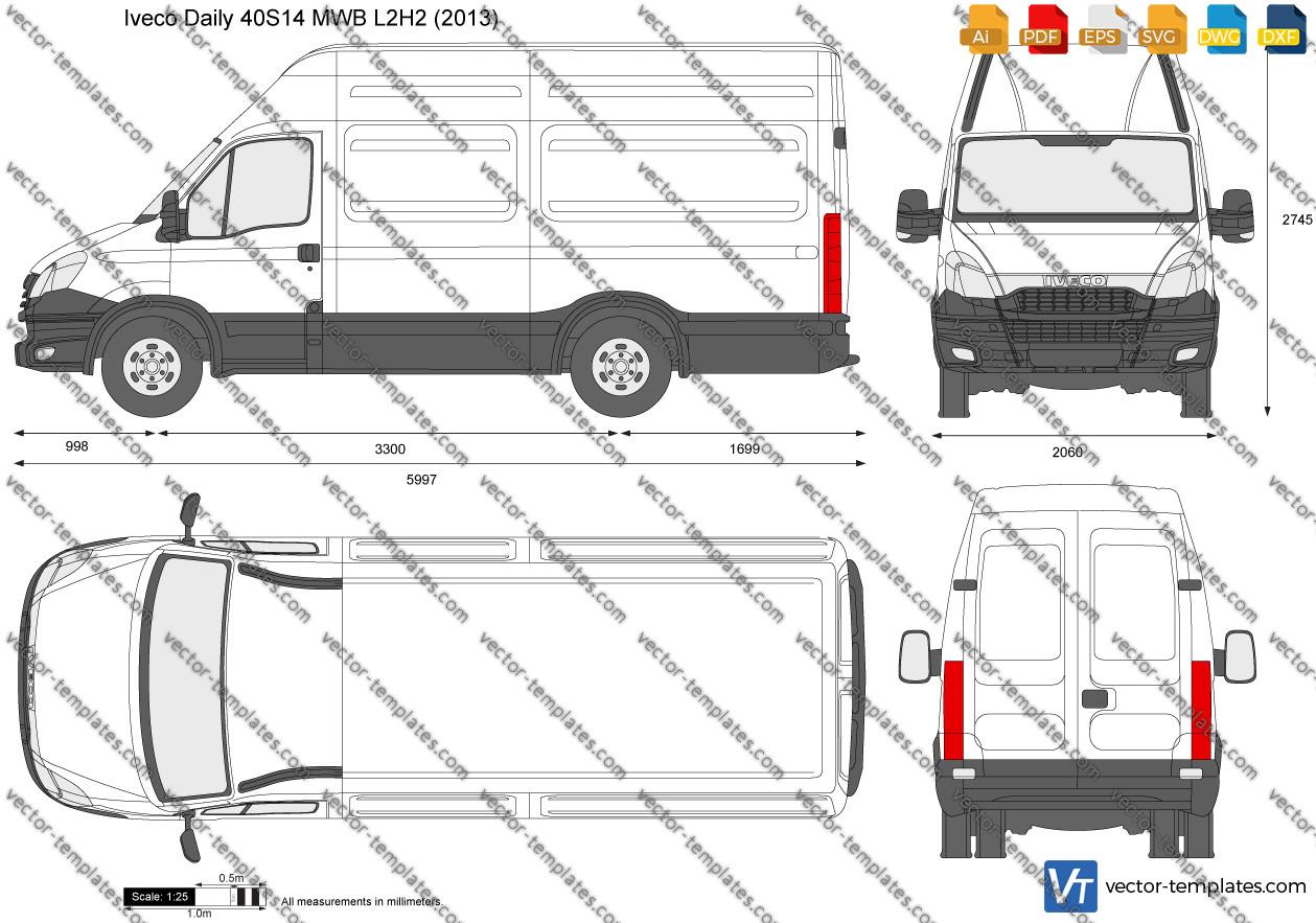 Iveco Daily 40S14 MWB L2H2 2013