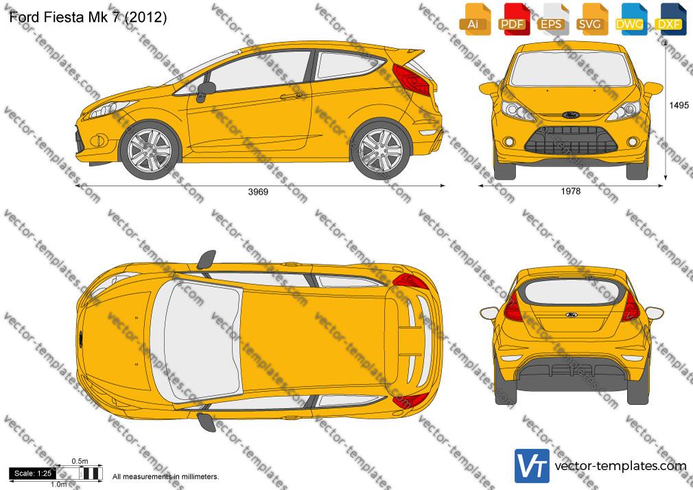 Ford Fiesta Mk 7 2012