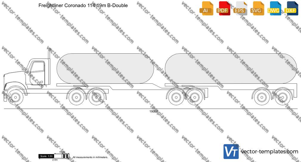 Freightliner Coronado 114 19m B-Double
