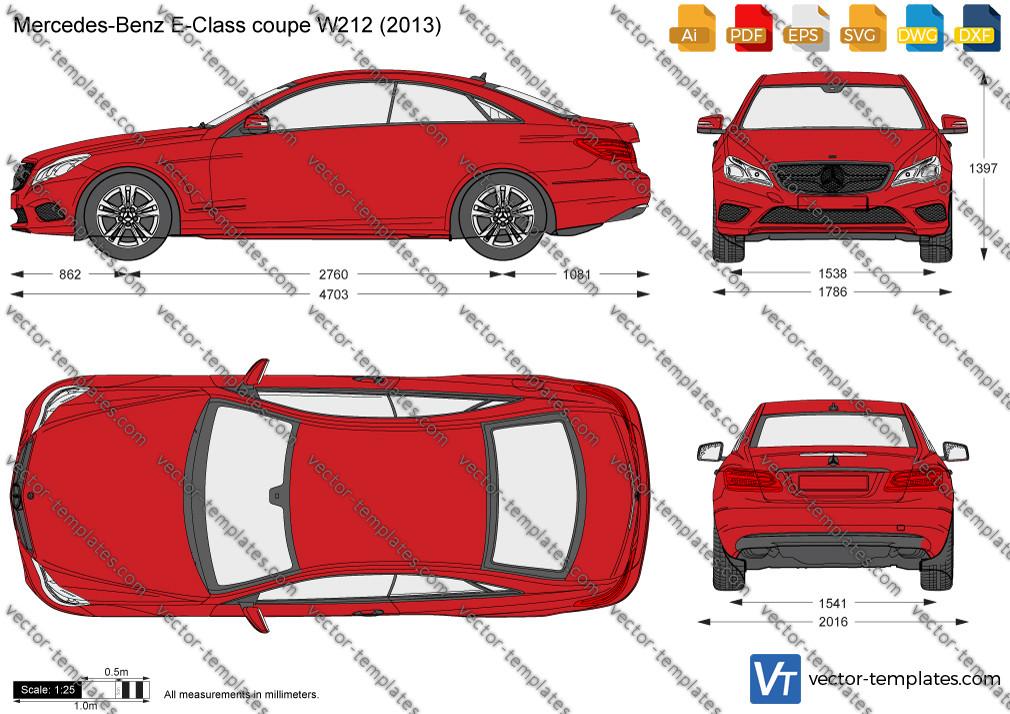 Mercedes-Benz E-Class Coupe W212 2013