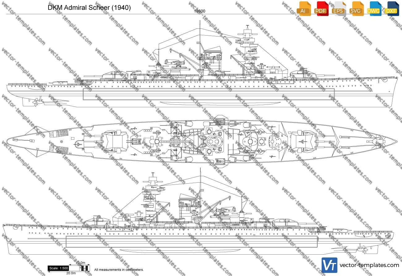 DKM Admiral Scheer 1940
