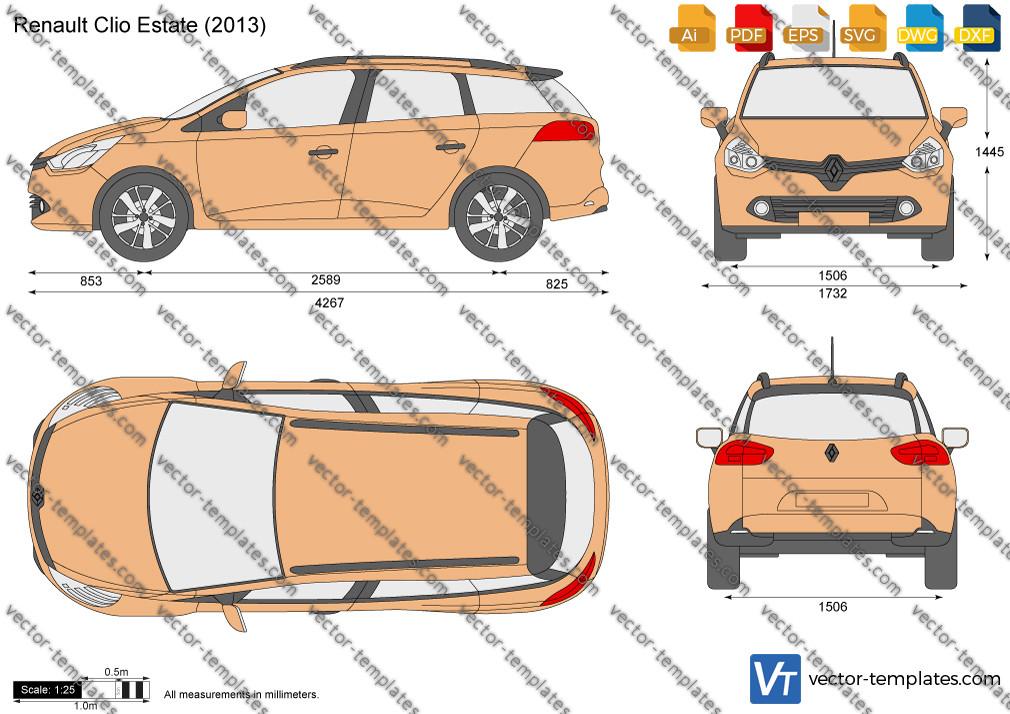 Renault Clio Estate 2013