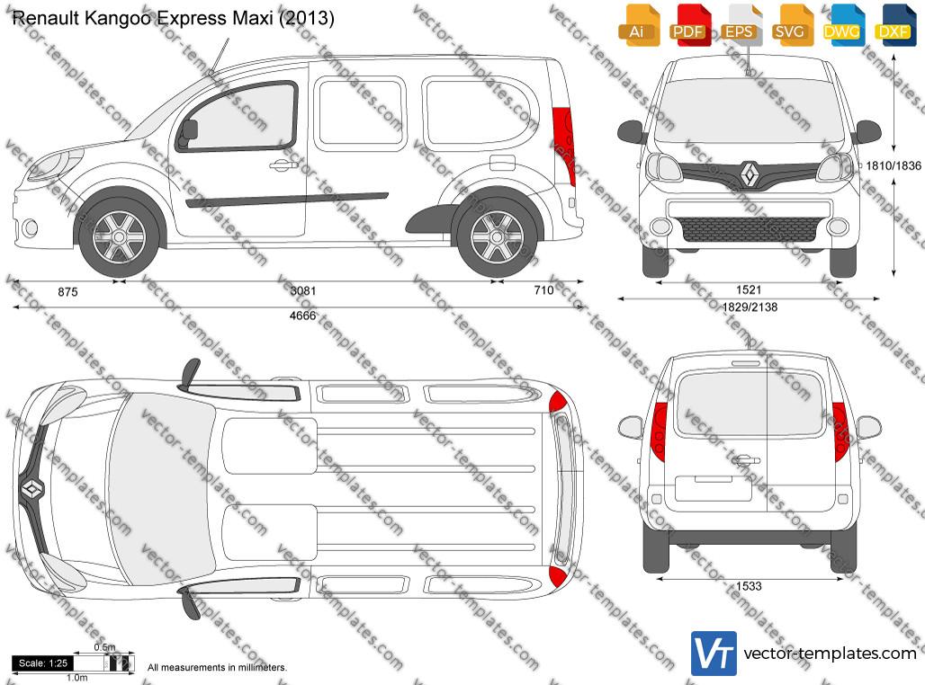 Renault Kangoo Express Maxi 2013