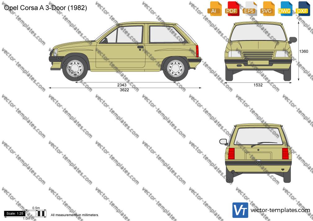 Opel Corsa A 3-Door 1982