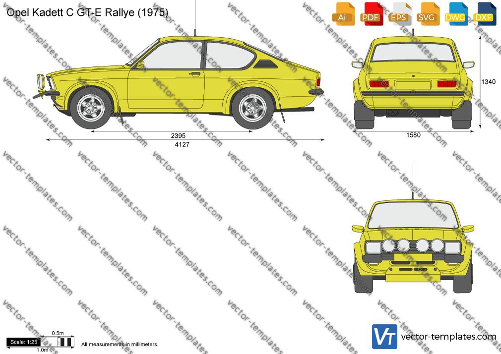 Opel Kadett C GT-E Rallye 1975