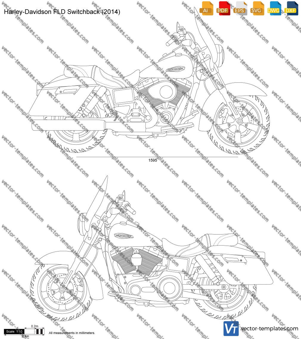 Harley-Davidson FLD Switchback 2014