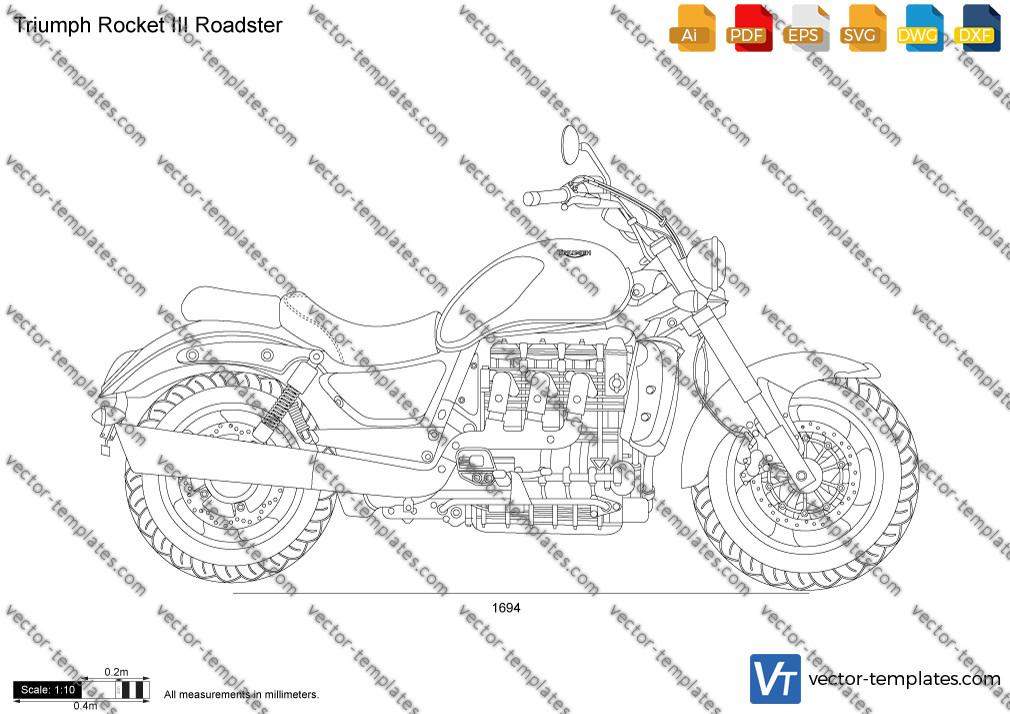Triumph Rocket III Roadster