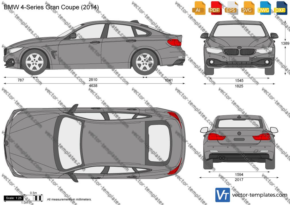 BMW 4-Series Gran Coupe F36 2014