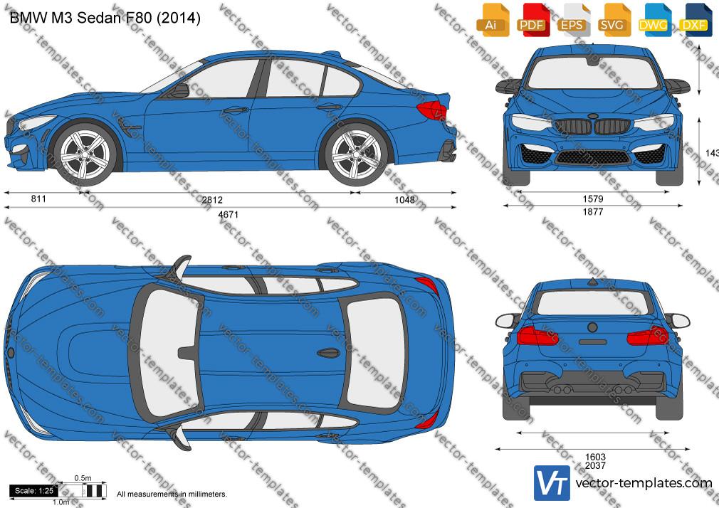 BMW M3 Sedan F80 2014