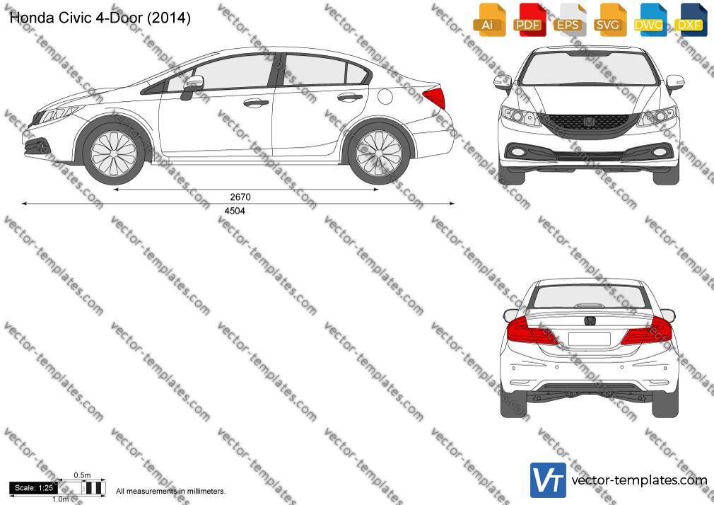 Honda Civic 4-Door 2014