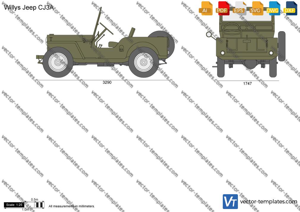 Willys Jeep CJ3A