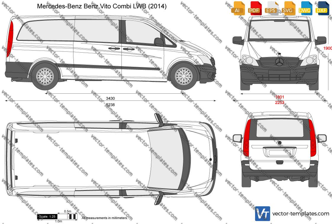 Mercedes-Benz Vito Combi LWB 2014