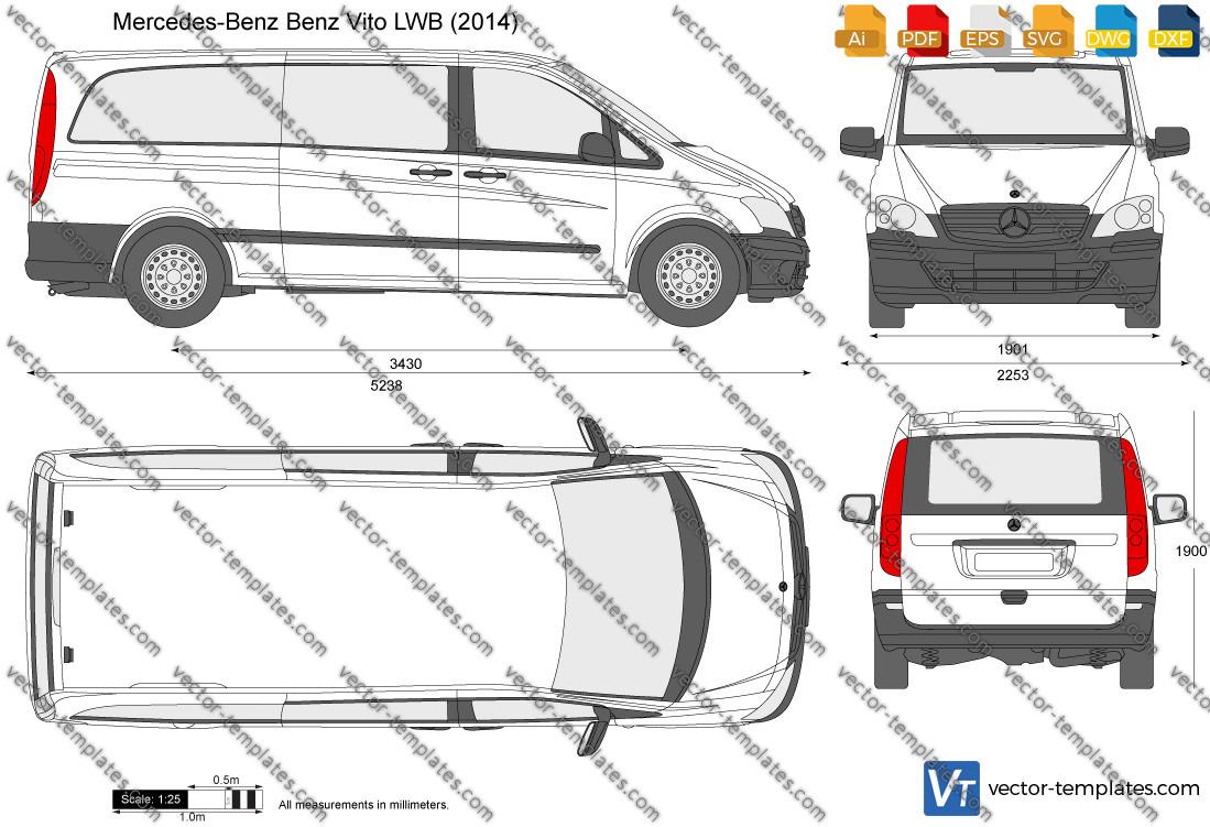 Mercedes-Benz Vito LWB 2014