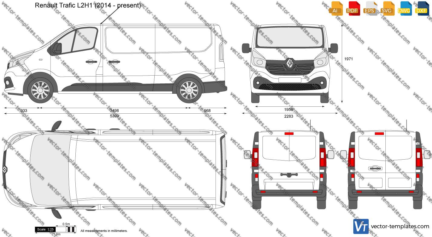 Renault Trafic L2H1 2014
