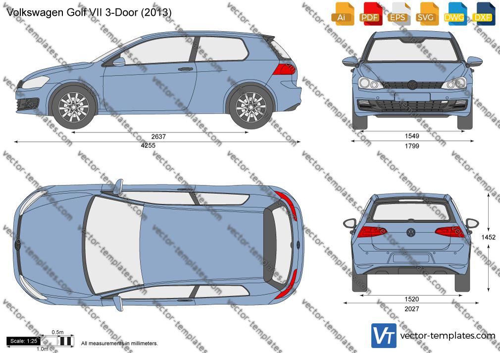 Volkswagen Golf VII 3-Door 2013