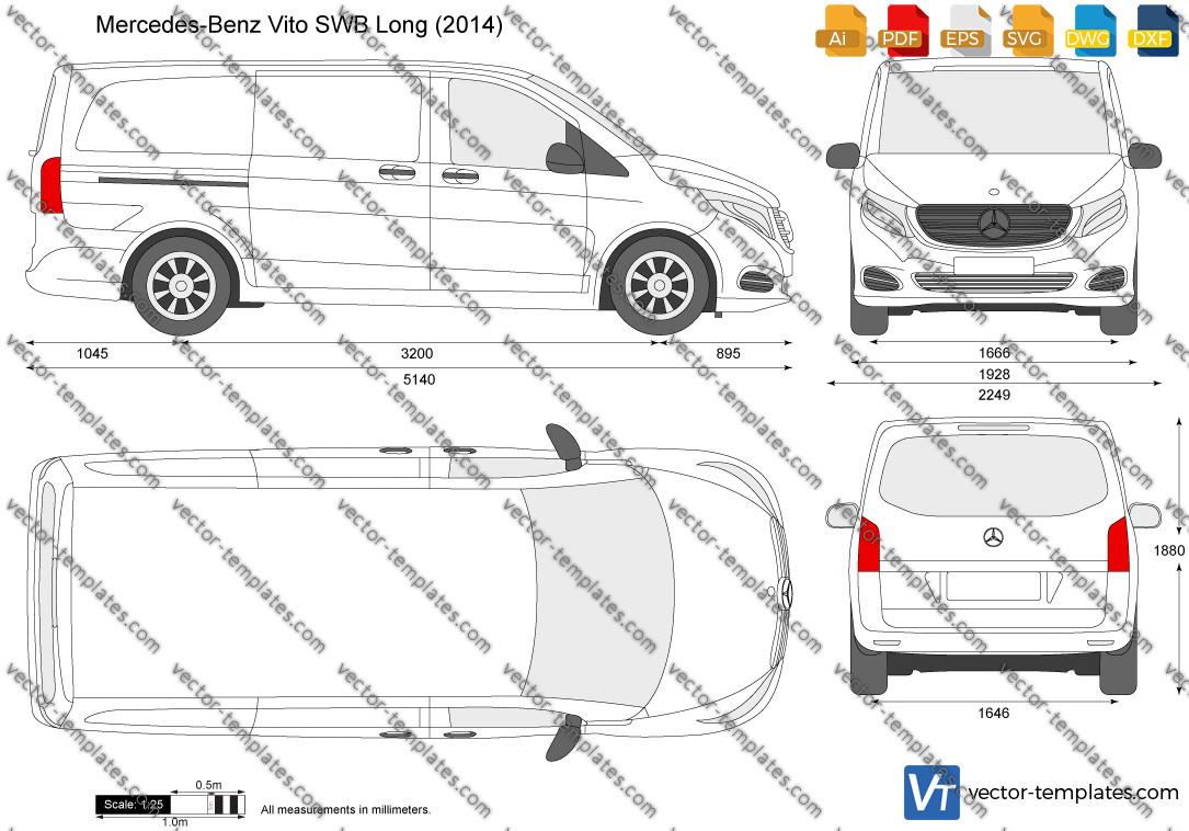 Mercedes-Benz Vito SWB Long W447 2014