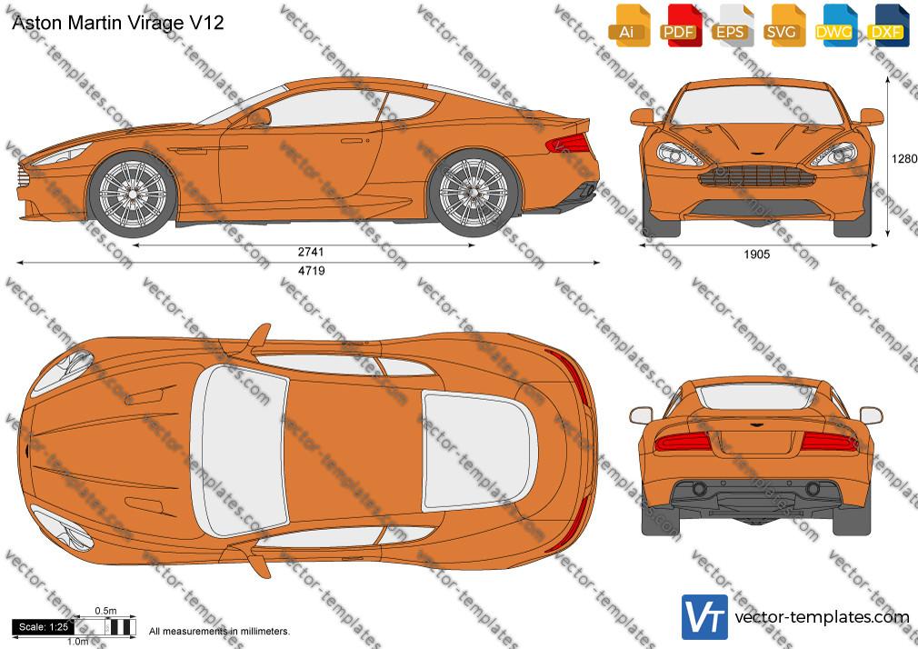 Aston Martin Virage V12 2012