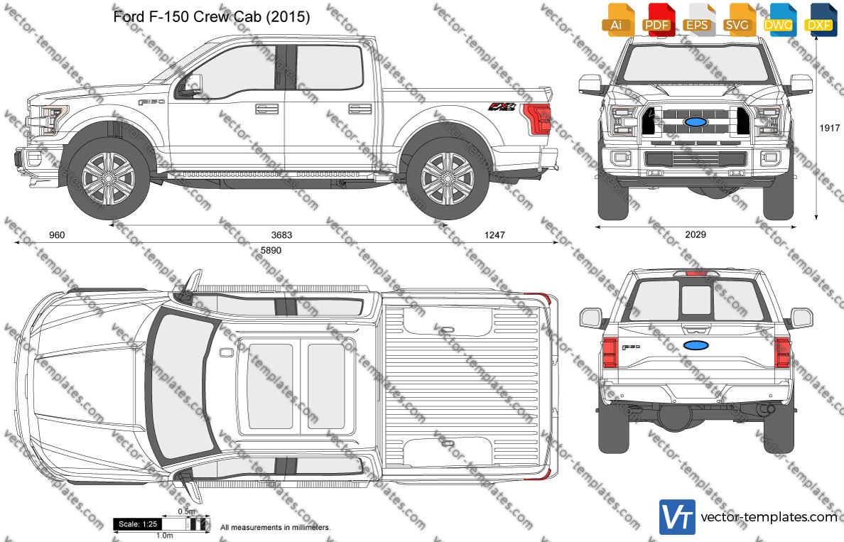 Ford F-150 Crew Cab 2015
