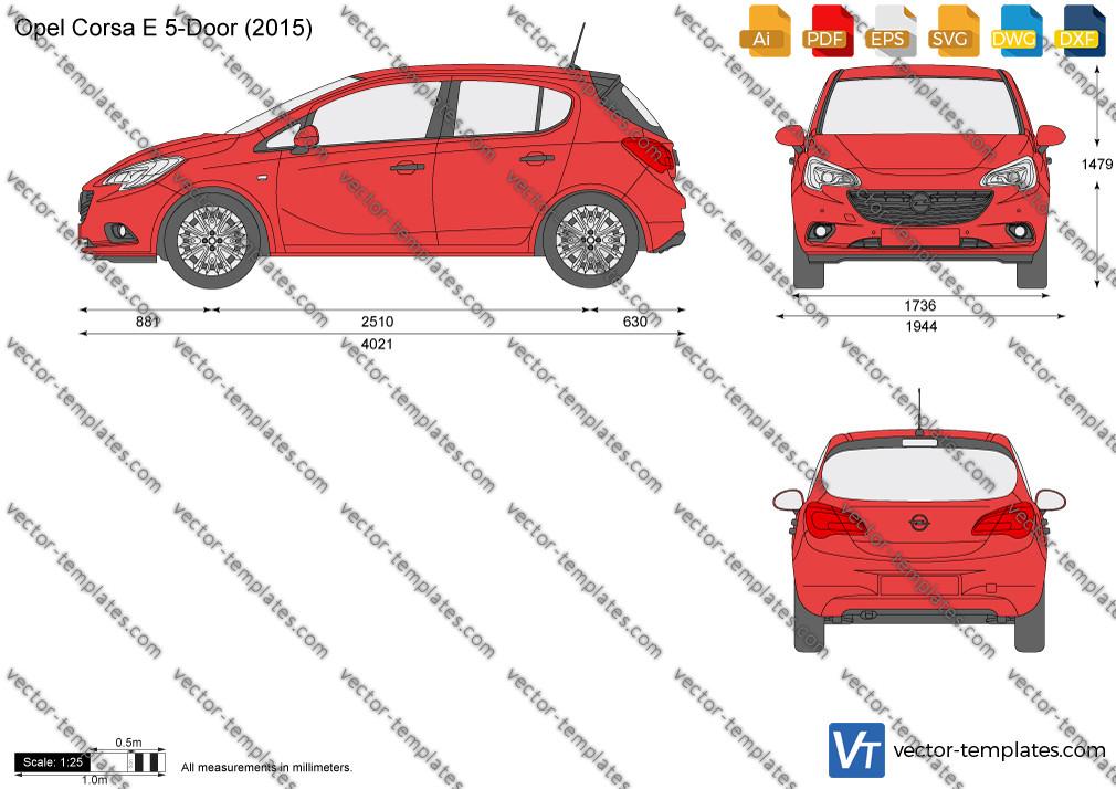 Opel Corsa E 5-Door 2015