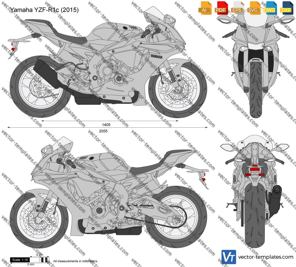 Yamaha YZF-R1c 2015