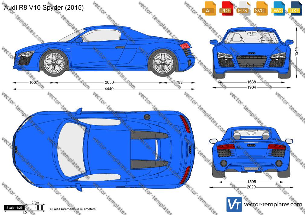 Audi R8 V10 Spyder 2015