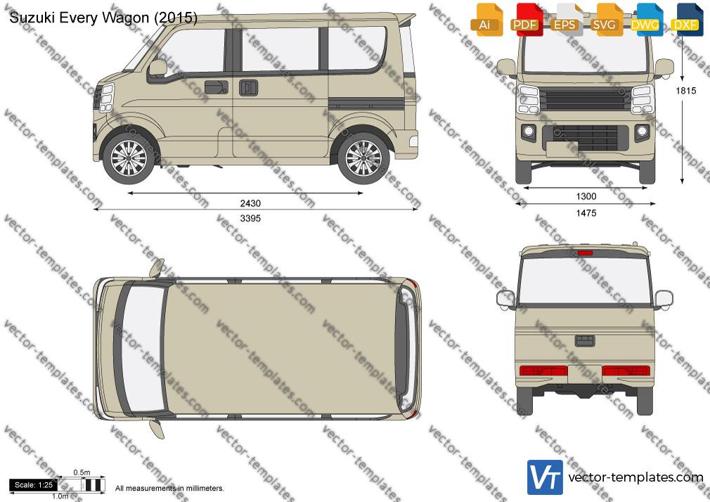 Suzuki Every Wagon 2015