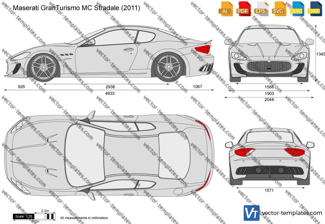 Maserati GranTurismo MC Stradale 2011