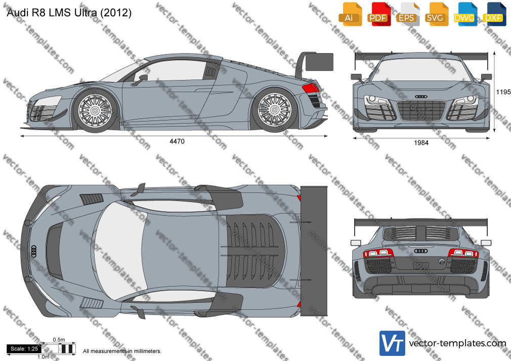 Audi R8 LMS Ultra 2012