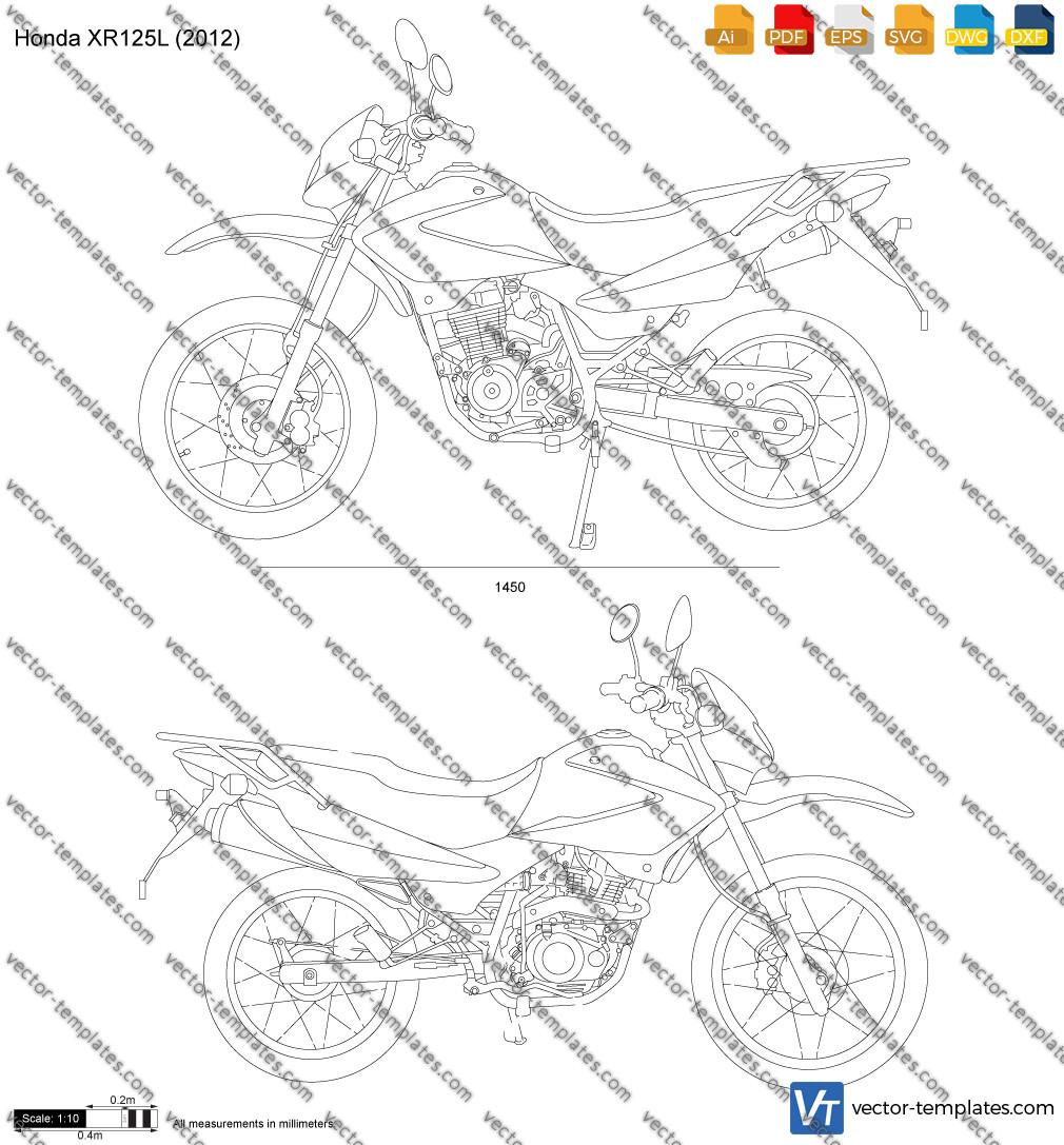 Honda XR125L 2012
