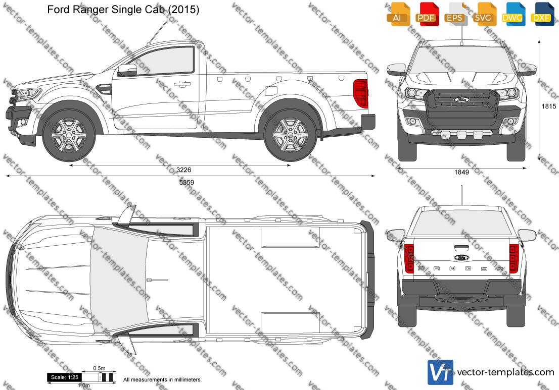 Ford Ranger Single Cab 2015
