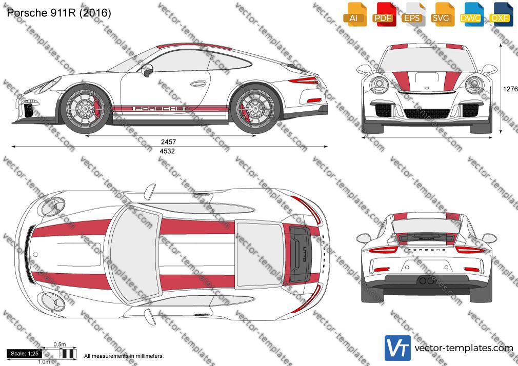 Porsche 911R 2016