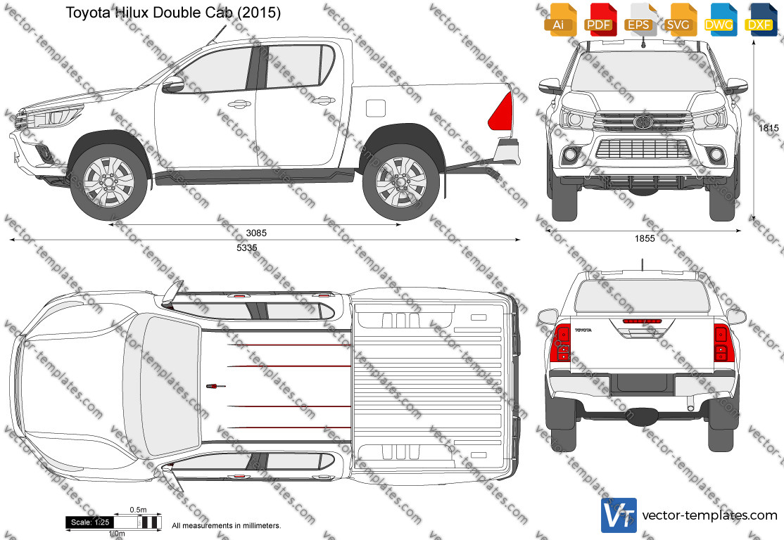 Toyota Hilux Double Cab 2015