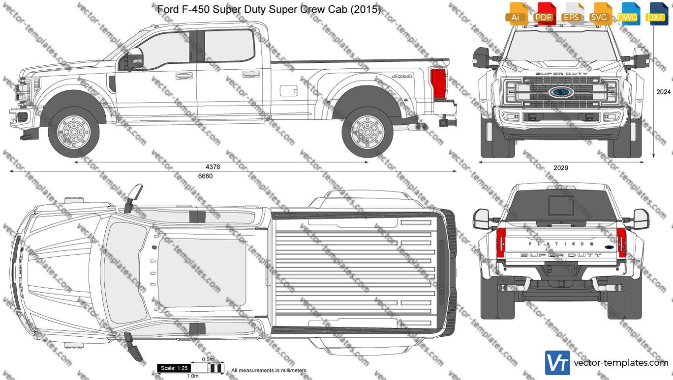 Ford F-450 Super Duty Super Crew Cab 2015