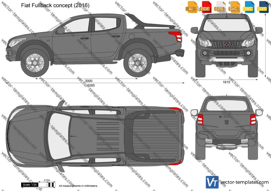 Fiat Fullback concept 2016