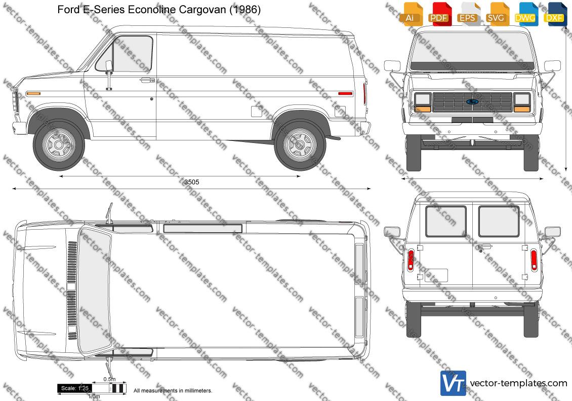 Ford E-Series Econoline Cargovan 1986