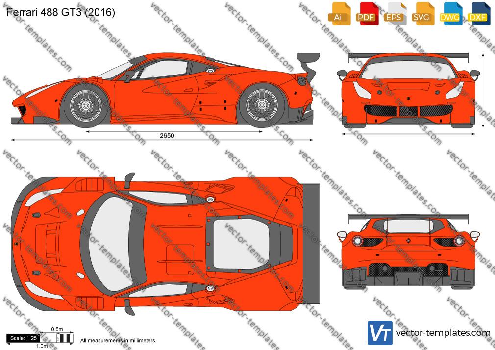 Ferrari 488 GT3 2016