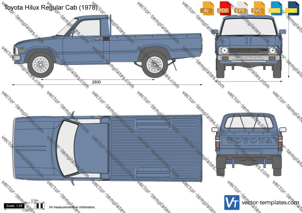 Toyota Hilux Regular Cab 1978