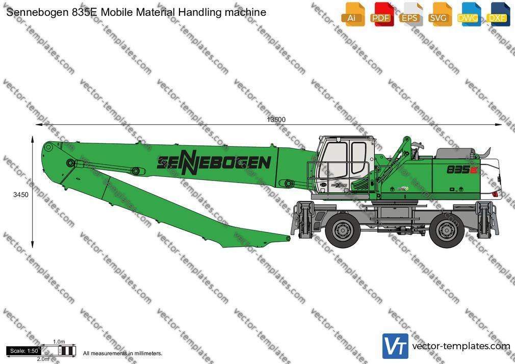 Sennebogen 835E Mobile Material Handling machine
